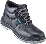 Neosafe A7025_6 Helix, High Ankle Black Safety Shoes with Steel Toe