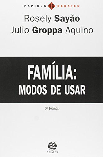 FAMILIA - MODOS DE USAR - 3 ED.