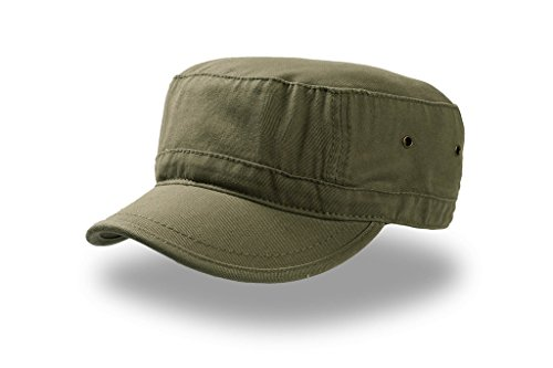 Urban Basic Army Cap Baumwolle Havanna (S/M (54-57) - oliv)