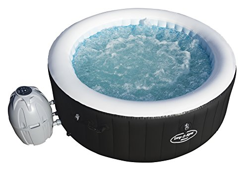 Bestway - Spa gonflable jacuzzi Lay Z Spa Miami 4 places, diamètre 180 cm hauteur 66 cm, 81 jets d'air