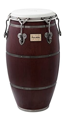 Tycoon Percussion TSCH-110BC/S 11 inch Signature Heritage Series Matte Finish Quinto Conga - Dark