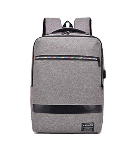 HF morning Einfarbig Nylon 14 Zoll Notebookrucksack Herren Wasserdicht Laptop Rucksack Leicht Laptoptasche Mode Groß Backpack Arbeit Business Schultasche