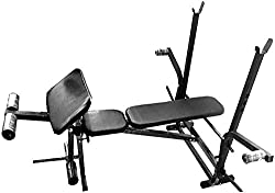BODY MAXX Weight Lifting Bench 7 in 1 Home Gym Exercises (Flat + Incline + Decline + Leg curls + Leg Extentions + Butter Fly + Preacher Curl)