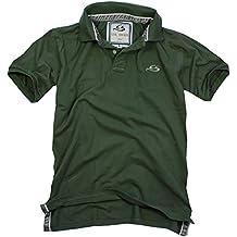 Cox Swain Vintage Polo Shirt T-Shirt, Colour: Olive, Size: S