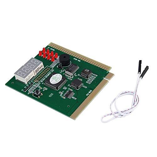 Yaoaomon 4-stellige Analyse-Diagnose-Motherboard-Tester Desktop-PCI-Express-Karte -
