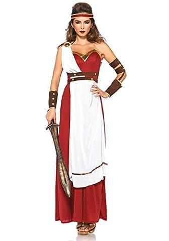 Leg Avenue Costume Déesse de Spartan pour Femme Banc/Rouge Taille S/M