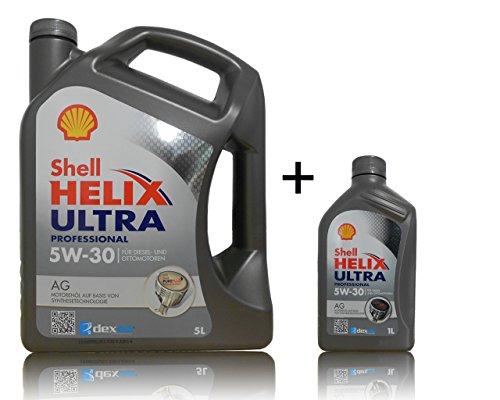 Shell Helix Ultra AG Dexos 2 5W-30 1x5 + 1x1 Liter