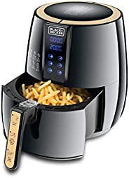 Black+Decker 4 Liter 1.2kg Performance Range Digital Air Fryer Aerofry, Black - AF400-B5, 2 Years Warranty
