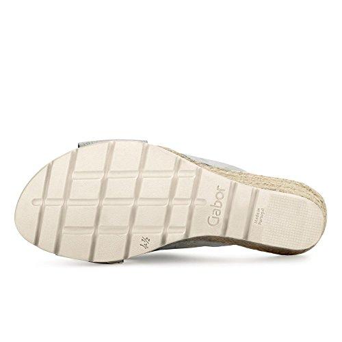 Gabor Comfort Pantolette ice/argento (Jute)