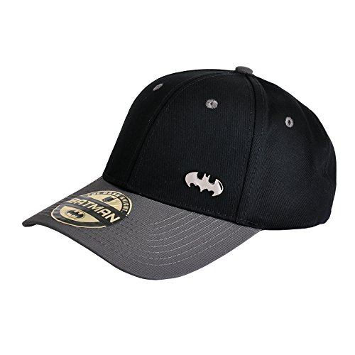 Hat Riddler (Batman Basecap mit Metall Logo)