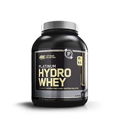 Optimum Nutrition Platinum Hydro Whey Protein Milk Chocolate, 1.6 kg