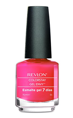Revlon Gel Envy - Esmalte de unas, color 090-rosa chicle, 15 ml
