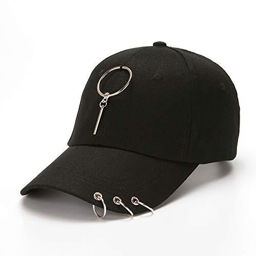 KFEK Hoop Metal Baseballmütze Wild Sunshade Cap Sun Hat Baseballmütze I3 -