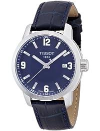 Tissot Herren-Armbanduhr Analog Quarz Leder T055.410.16.047.00