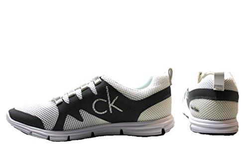 Calvin Klein - Giselle, Sneaker Donna Blanc