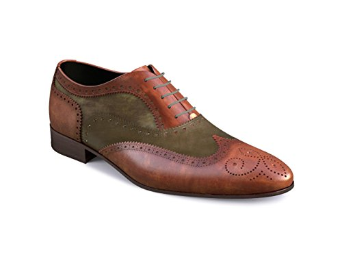 DIS - Fred – Richelieu Full Brogue – Homme Multicolore
