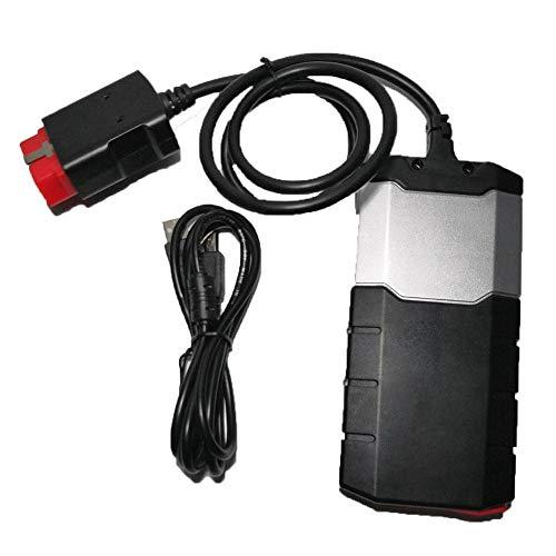 HTSHOP Auto-Fehlerdiagnose-Instrument, Auto-Fehlerdetektor, leistungsstarke OBDII-Diagnosescannerfunktion, Diagnosewerkzeug, DS150 Green Board mit Bluetooth, mit Aktivator, 2016 2015R3