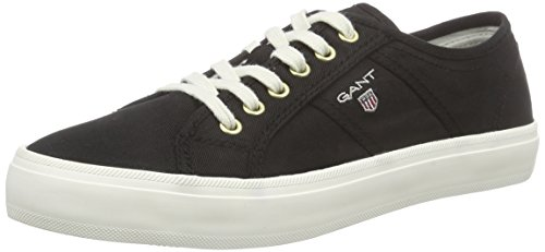 Gant Zoe, Sneaker Basse Donna Nero (Schwarz (black G00))