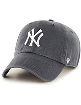 Unbekannt '47adultos Tapa MLB New York Yankees Clean Up, unisex, Kappe MLB New York Yankees Clean Up, charcoal...