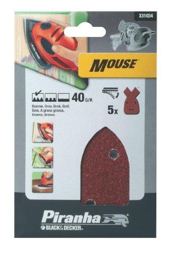 black-decker-x31034-papier-abrasif-pour-ponceuse-mouse-lot-de-5-40g-import-grande-bretagne