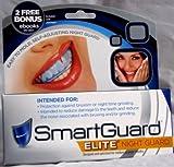 SmartGuardElite–verbesserte Nachtschiene bei Zähneknirschen –Formbarer Mundschutz für die Zähne, TMJ-Material, das sich an die Zähne anpasst, Hilfe bei Zähneknirschen, Mundschutz zur Minderung der Symptome, Mundstück, mindert Symptome wie Kieder-Schmerzen oder Kopfschmerzen, 100% Zufriedenheit garantiert