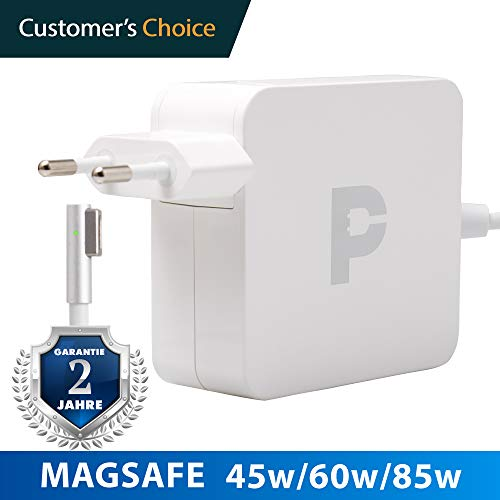 Magsafe 85w - Ladekabel MacBook Pro 15' | 2 Jahre Garantie auf 45w Magsafe Power Adapter | Zertifiziertes Ladekabel für Apple MacBook pro 15' bis Mitte 2012 - Apple Macbook Adapter Pro