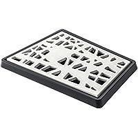 Koziol 3255100 Matrix Planche à Pain Plastique Blanc/Noir 25,1 x 37,7 x 0,5 cm