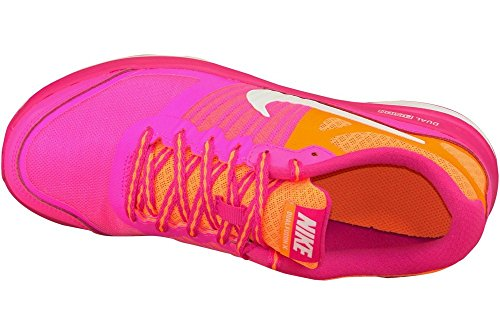 Nike , Chaussures de course pour fille Talla Multicolore - Rosa / Naranja / Blanco