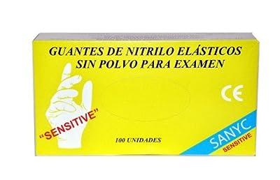 GUANTE NITRILO SENS. T/7