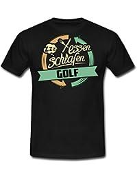 Sport Design Golf RAHMENLOS Geschenk Hobby Männer T-Shirt von Spreadshirt®