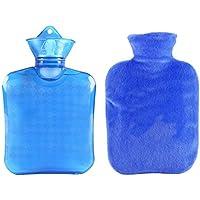 Klassische transparente Gummiwasserflasche 0.75 Liter mit Abdeckung für Schmerz-Kältetherapie #24 preisvergleich bei billige-tabletten.eu