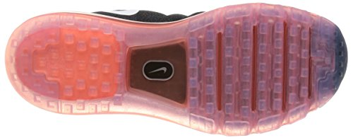 Nike Air Max, Chaussures de Running Entrainement Homme Noir - Negro (Negro (Black/White-Ttl Crmsn-Sqdrn Bl))