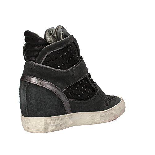 D.A.T.E. , Damen Sneaker Schwarz