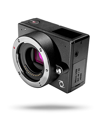 Z CAM E1Kamera 4K mit austauschbaren Objektiven Micro 4/3WLAN Bluetooth Kompatibel mit Ziele Panasonic/Lumix/Sigma/Olympus schwarz