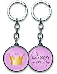Schlüsselanhänger Metall Für Dich Queen of the Day