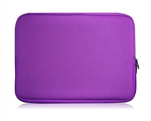 Sweet Tech Lila Neopren Hülle Tasche Sleeve Case Cover geeignet für Odys Vario Pro 12 Convertible Tablet 11.6 Inch HD ( 11.6 - 12.5 Zoll Laptop )