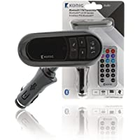 König csbt FMT rans100de 12V de Bluetooth Transmisor de FM con micrófono