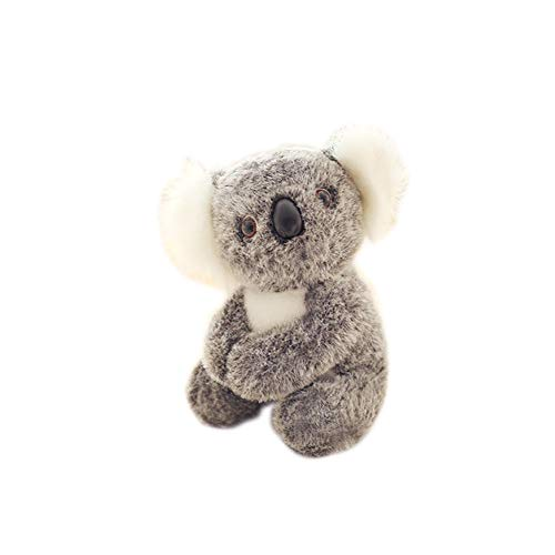Beito 1pc Koala Linda Animal de Peluche de Felpa muñecas de la Historieta de la simulación Animales Empuje Regalos Juguete Adorable Koala 3D interactivos muñecas Juguetes de Peluche (17cm / 6.7inch)