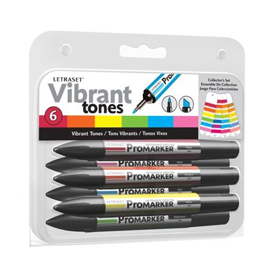 Letraset ProMarker Collectors Complete Pack – All 8 Sets – 42 Pens Reviews