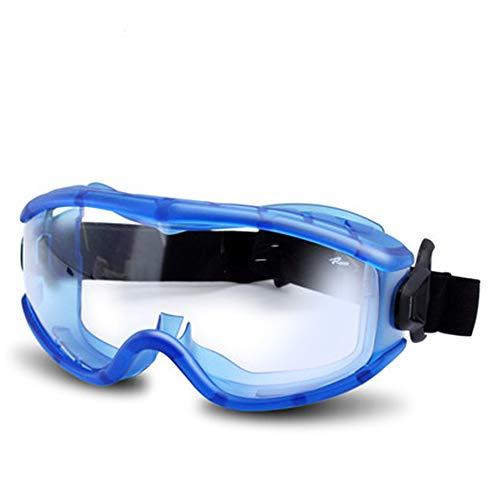LTLCLZ Transparente Anti-Fog-Gläser Anti-Auswirkungen Im Freien Reiten Staubdicht Sand-Männer Und Frauen Experimentelle Anti-chemische Schutzbrille