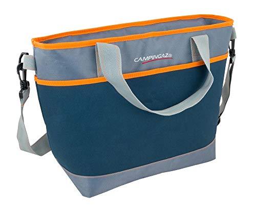 Campingaz Kühltasche Tropic 19L, Isoliertasche mit Schulterriemen, kühlt bis zu 8 Std, faltbare Isotasche zum Einkaufen, Camping oder als Picknicktasche