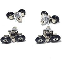 Set of 4 new adjustable Shower door rollers 25mm