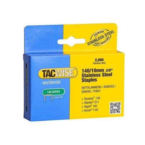 Tacwise 1308 140 agrafes en acier pour marteau Trackers à la main