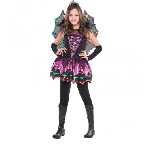 Amscan International Mädchen Spider Kostüm Fee