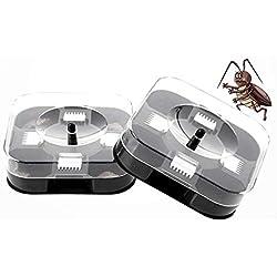 Trampa de cucarachas Inteligente y efectiva Amigable con el Medio Ambiente/No tóxico Reutilizable para Eliminar plagas: Uso Sencillo Vida cómoda