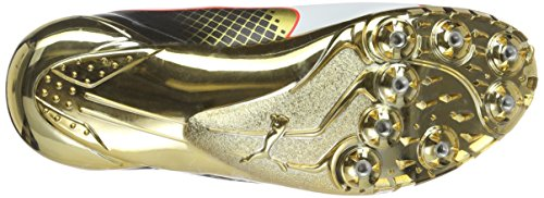 Puma Evospeed Disc Bolt Tricks, Chaussures de Running Compétition Mixte Adulte Or - Gold (Gold-puma Black 01)