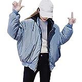 PANPANY wintermantel Damen Steppjacke Daunenjacke Mantel mit Kapuze Lange Winterjacke Wintermantel Parka Schlank Warm Oberbekleidung Trenchcoat Pelzkragen Outwear