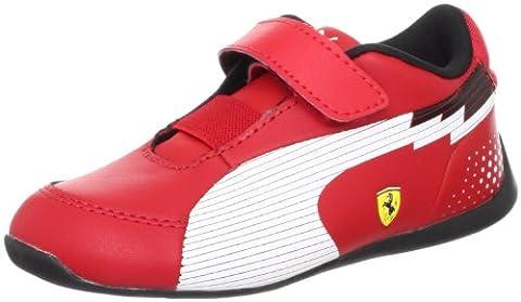 Puma SF Ferrari evoSPEED Lo V Baskets pour enfant (304212 D78 01), Rouge - rouge, 20 EU