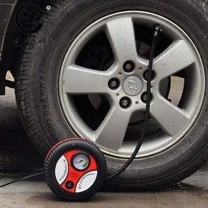 Mini Portable Electric Air Compressor Pump Car Tire Inflator 12V 260PSI 2J2