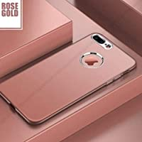 Cep's-Apple iPhone 8 Plus Kılıf Aston Silikon Rose Gold